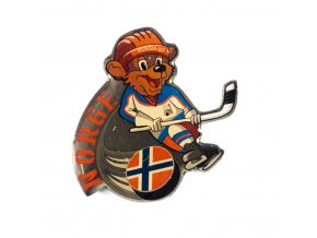 Odznak team Norge, hokej WCH Russia, 2007