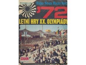 Stadion mimořádné číslo ZOH Munchen, 1972