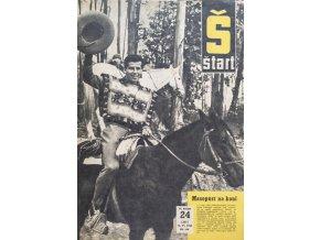 Časopis ŠTART, ročník VII, 14. VI. 1962, číslo 24