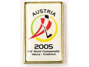 Odznak MS hokej 2005 Austria Vienna