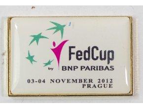 Odznak Fed Cup fina, Prague, 2012