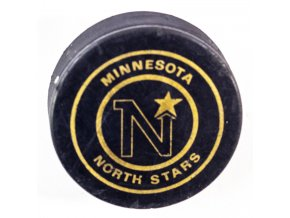 Puk , Minnesota North Stars NHL, Hockey Sur Glace (1)