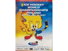 Porgram hokej, Ice hockey, WCH Finland, geenral information,1997