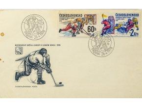 FDC, MS hokej, Praha, 1978 (1)