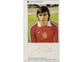 Podpisová karta, Jozef Kukačka, autogram
