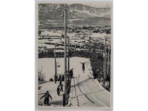 Kartička Olympia 1936, Berlin. Kombination (1)
