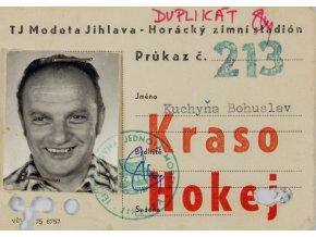 Permanentní vstupenka TJ Modeta Jihlava, Kraso Hokej (1)