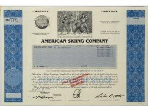 Akcie, American Skiing Company, Aspen (1)