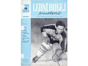 Časopis Lední hokej, bruslení, 101959