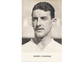 Kartička A. Kvašňák, Malé sportovní portréty (1)