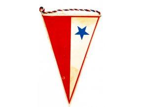 Klubová vlajka VZ TJ Moravská Slavia, 1904 1984 (1)