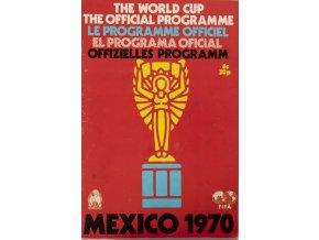 Programa Oficial, Mexico, WC, Fifa, 1970