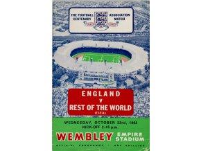 Program, England v. Rest of the World, 1963