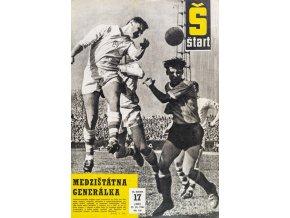 Časopis ŠTART, ročník VII, 27.IV. 1962, číslo 17
