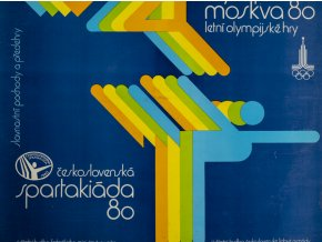 Gramofonová LP deska, Olympiáda Moskva, 1980 (1)