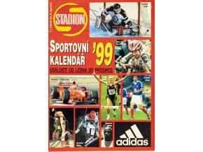 Stadion, sportovní kalendář, 1999