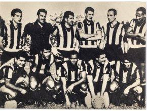 Fotopohlednice, Penarol Montevideo, 1964, autogramy (1)