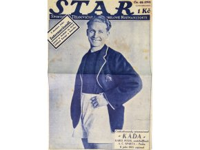 Fragment z časopisu STAR, č. 46, Káďa, Slavia Sparta (1)