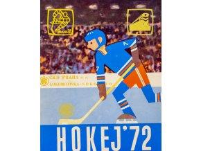 Propagační materiál, Hokej, 1972 (1)
