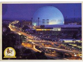 Pohlednice Stockholm, Globen Arena (1)