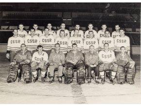 Fotografie Hokejový tým ČSSR, ČTK