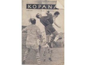 Časopis Kopaná , Září 1955