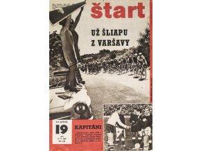 Časopis ŠTART, ročník XII, 11. V. 1967, číslo 19 (1)