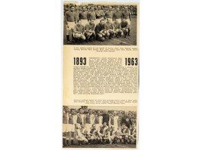 Výstřižek z novin Slavia sparta, 1893 1963 (1)