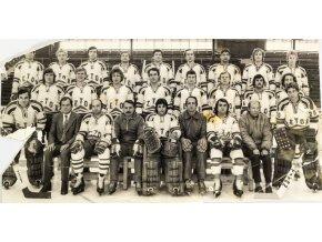 Fotografie hokejové mužstvo Zetor Brno