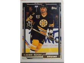 hokejova karticka vladimir ruzicka 1993 bruins