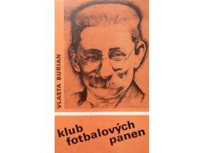 Kniha Klub fotbalových panen, Vlasta Burian
