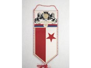 Vlajka klubová Slavia Praha IPS 95 let
