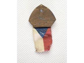 Odznak VIII. slet všesokolský v Praze 1926
