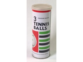 Tenisové míče plechovka Optimit 1983.dng