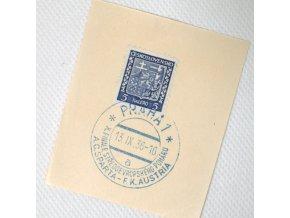 Ústřižek, příležitostné Praha 1 Sparta vs. F.K.Austria 1936. a I..dng