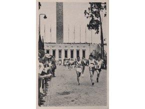 Kartička Olympia 1936, Berlin. Kitel Son, MarathonDSC 8241.dng
