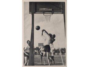 Kartička Olympia 1936, Berlin. BasketballDSC 8245.dng