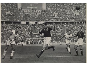 Kartička Olympia 1936, Berlin. FotbalDSC 8542.dng