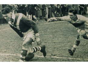 Pohled The nostalgia post card, Rugby League final.1955DSC 9857