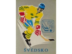 Samolepka 1978, MS Hokej Praha , ŠvédskoDSC 9873