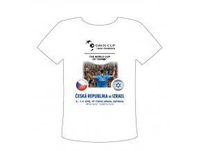Dětské tričko Davis cup 2018, CZE vs. ISR