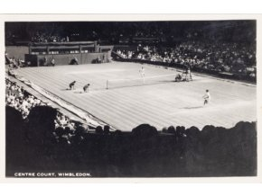 Post card Fotografie, centre court, Wimbledon, 1967DSC 2343
