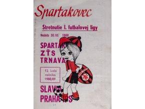 Program k utkání TRNAVA vs. Slavia Praha, SpartakovecDSC 4379