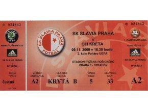 Vstupenka fotbal SK Slavia Prague vs. OFI KrétaDSC 4347
