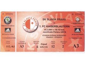 Vstupenka fotbal SK Slavia Prague vs. AB KodaňDSC 4349
