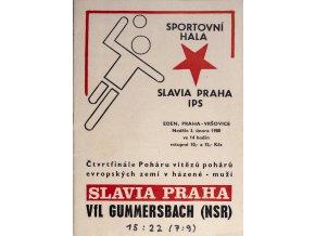 Program házená Slavia vs. Gummersbach, 1980DSC 4356