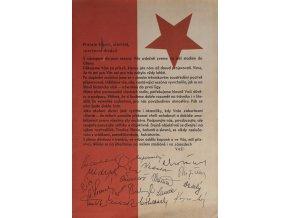 propagační materiál Slavie Praha na jaro ligy 1965