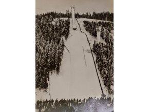 Pohlednice Skokanský můstek Oberhof 1965DSC 4611