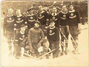 Dobová fotografie, Hockeyový tým HradčanyDSC 4700