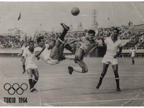 Pohlednice foto Tokio 1964, fotbalDSC 5673 2 (25)